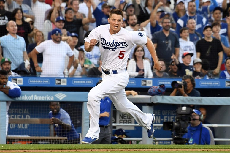Corey Seager of the Los Angeles Dodgers