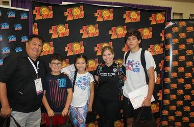 El Zol  en El National Latino Family Expo