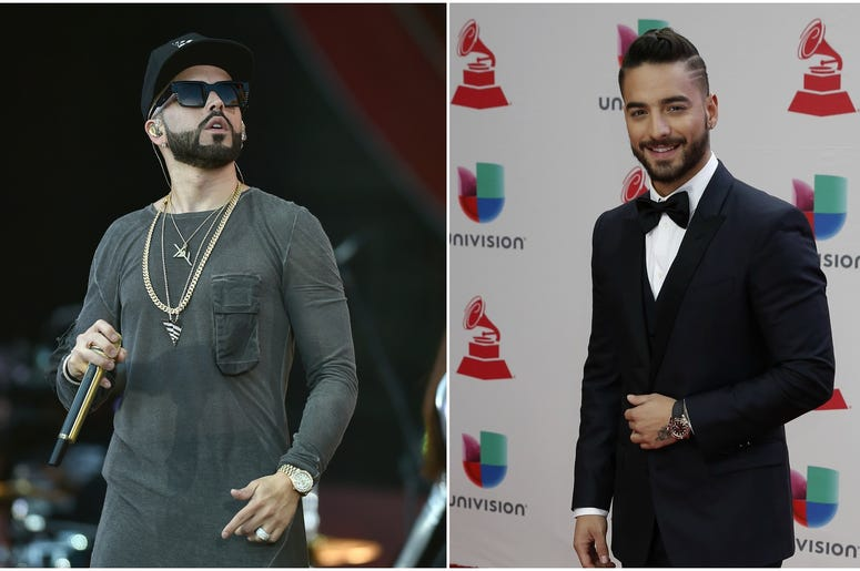 Yandel and Maluma