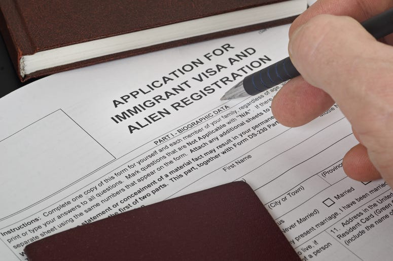 immigration paperwork