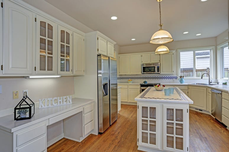 Kitchen in a house