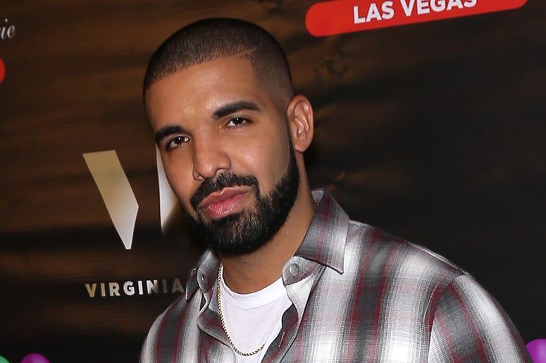 Drake on the red carpet