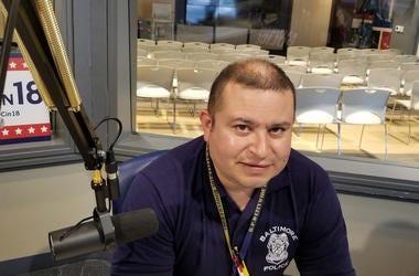 detective Miguel Rodríguez de la ciudad de Baltimore