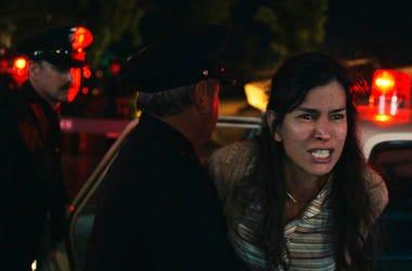 """Patricia Velasquez en una escena de """"The Curse of La Llorona"""" en una imagen proporcionada por Warner Bros. La película fue criticada por usar limpias de curanderos para su promoción en Estados Unidos."""