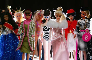 First launched at the New York Toy Show in 1959, Barbie has now become the largest selling toy ever produced. Barbie has worn the outfits of the great designers such as Dior, Ralph Lauren, Armani, Versace and many others, and has seen a career of almost 5
