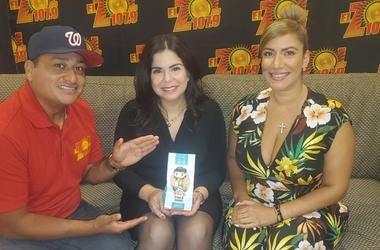 El Meneo con Angelique Sina de Friends of Puerto Rico