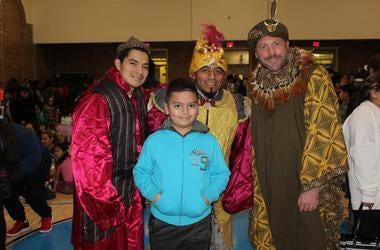 El Zol en La Celebración de los Tres Reyes Magos