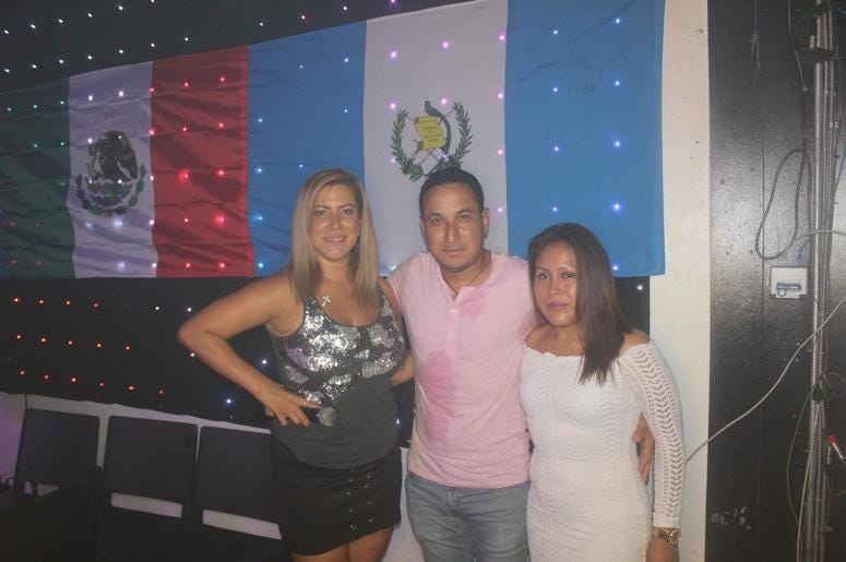 Patricia de Lima en Galaxy Night Club