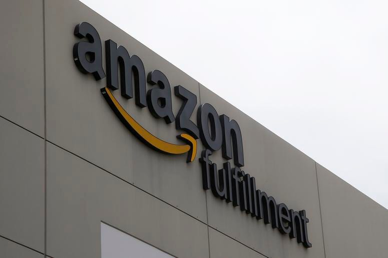 Fotografía del 17 de julio de 2019 de un centro de distribución de Amazon en Phoenix.