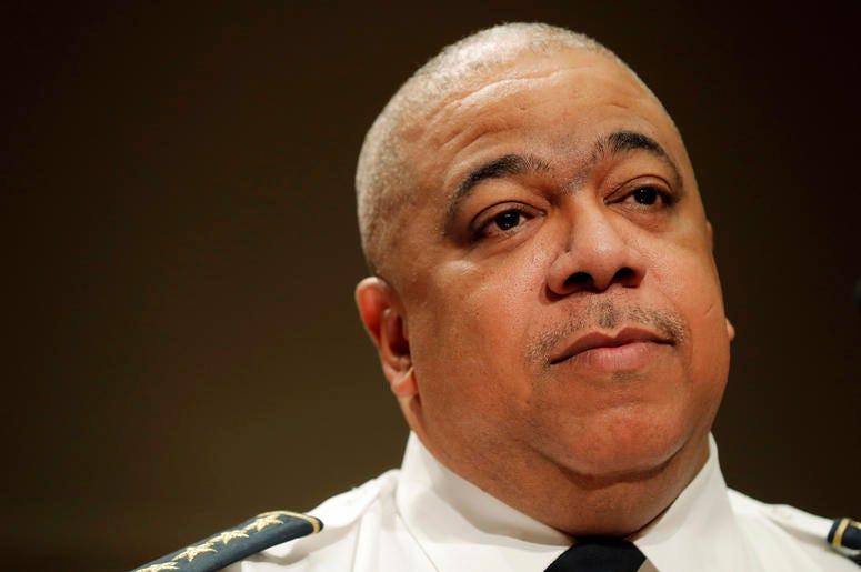 El jefe de policía de Baltimore Michael Harrison, en un evento en Nueva Orleáns, el 10 de enero del 2019. (AP Photo/Gerald Herbert, File)