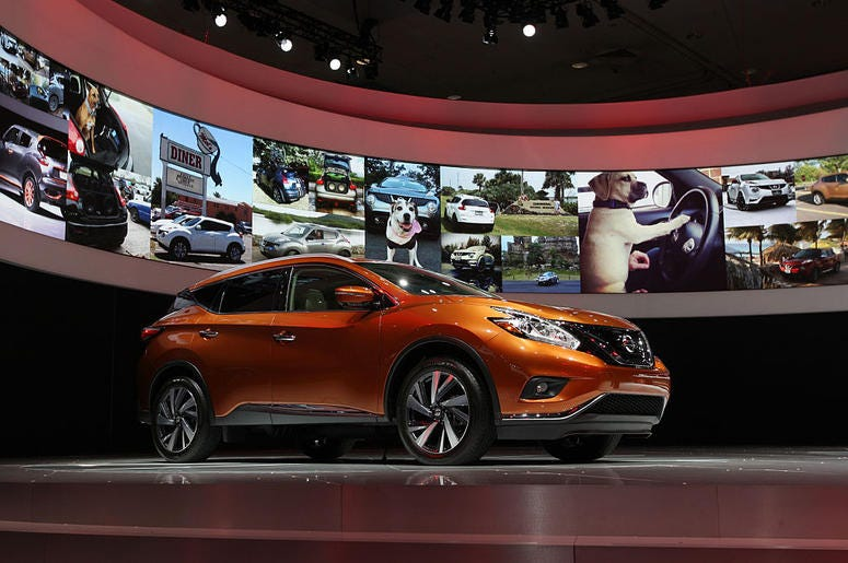 The 2015 Nissan Murano is introduced at the 2014 Los Angeles Auto Show on November 20, 2014 in Los Angeles, California. This year's show is slated to have a record 25 world auto debuts with at least 30 others having North American debuts.