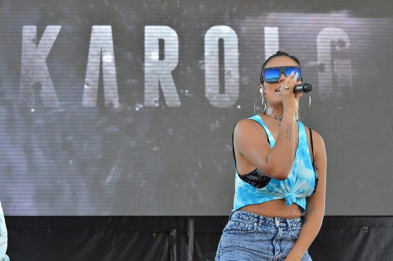 Karol G at Verano Zol 2017