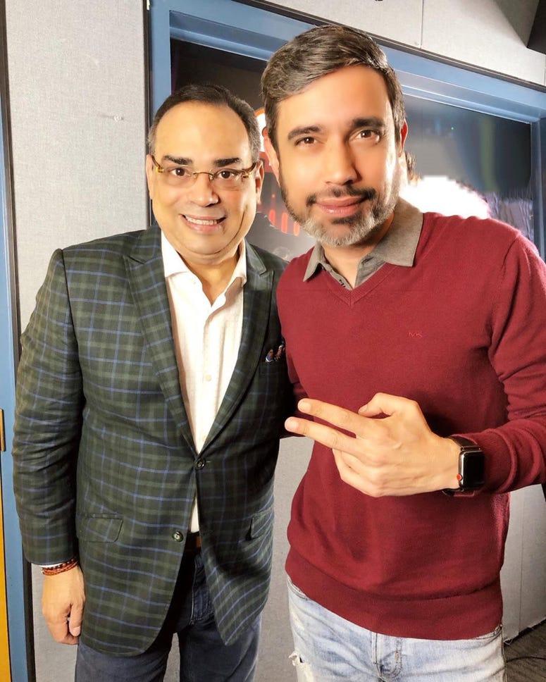 JR y Gilberto Santa Rosa