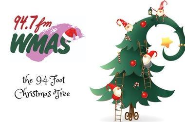 94' Christmas Tree