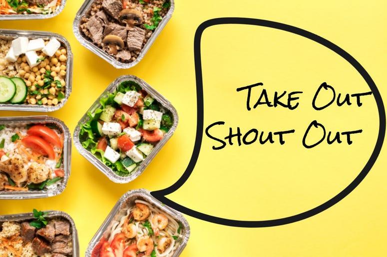 take out shout out