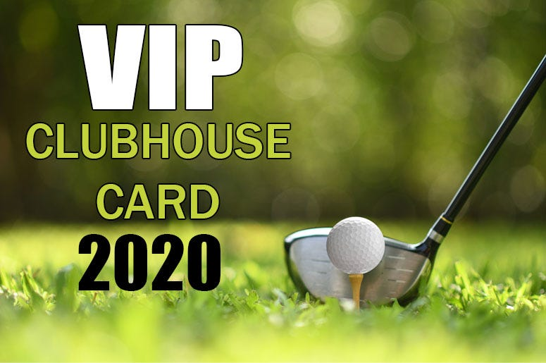 VIP Clubhouse Card 2020