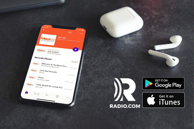 Max 102 RADIO.COM app