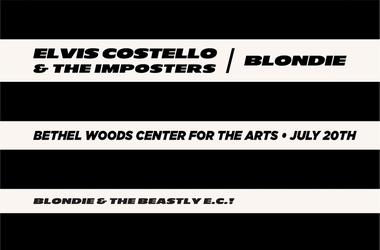 Elvis Costello and Blondie