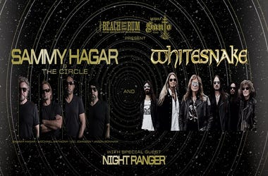 Sammy Hagar & The Circle / Whitesnake / Night Ranger