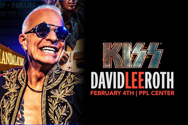Kiss with David Lee Roth