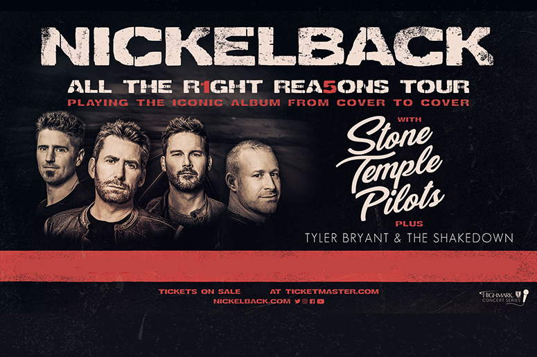 Nickelback with Stone Temple Pilots