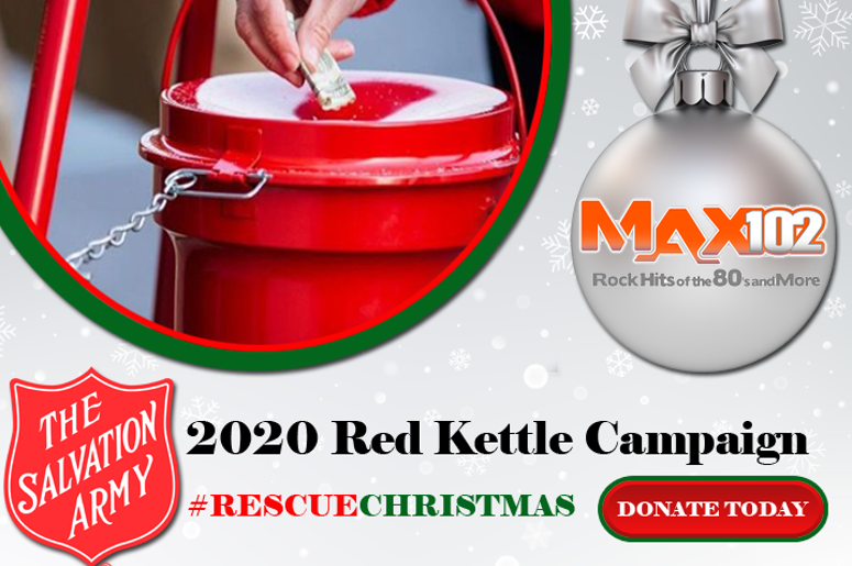 Rescue Christmas Salvation Army WMQX