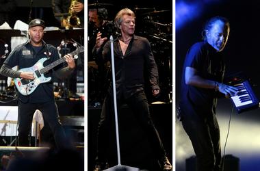 Tom Morello, Bon Jovi, Thom Yorke