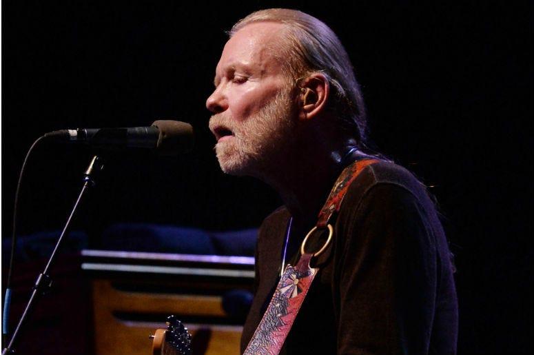 Recording artist Gregg Allman performs at the Hard Rock Live