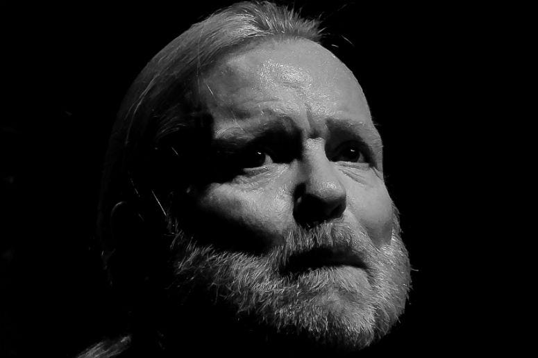 Gregg Allman of The Allman Brothers Band