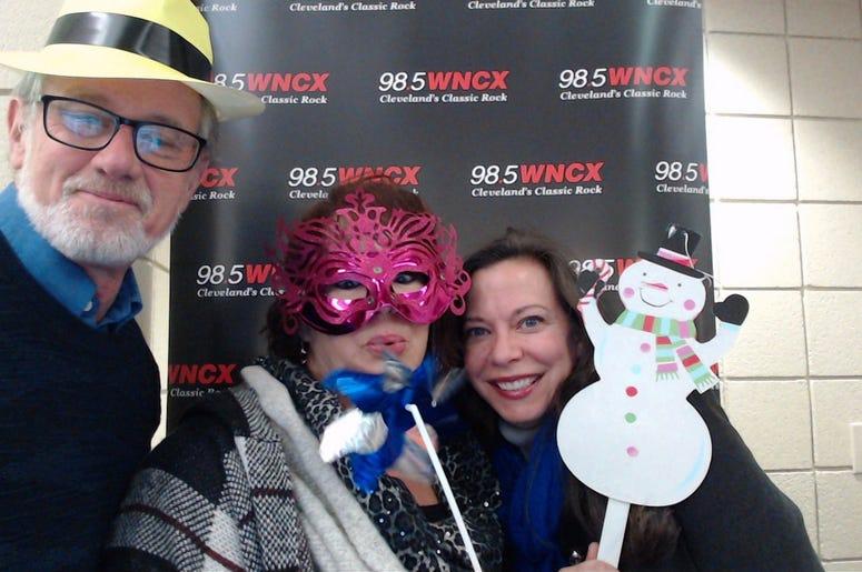 WNCX at TSO photobooth December 30, 2018