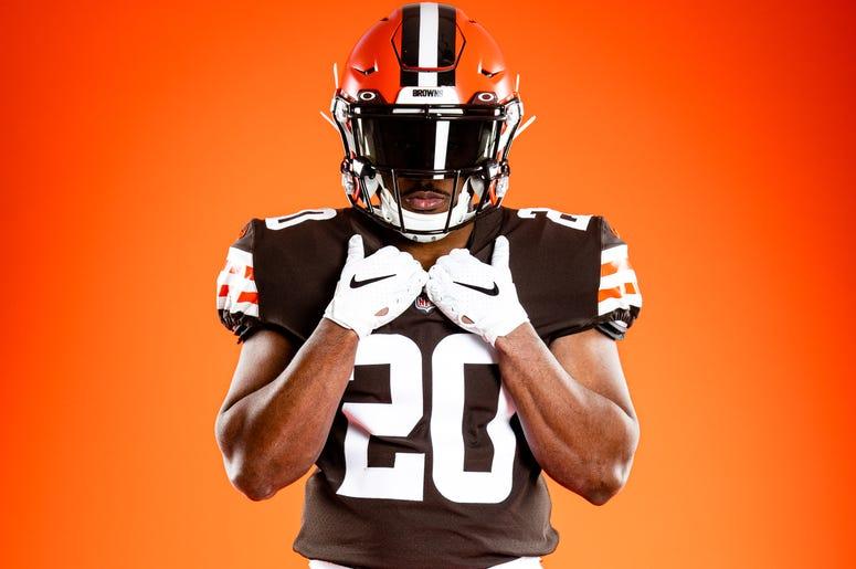 New Cleveland Browns jerseys