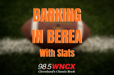 Barking in Berea with Slats