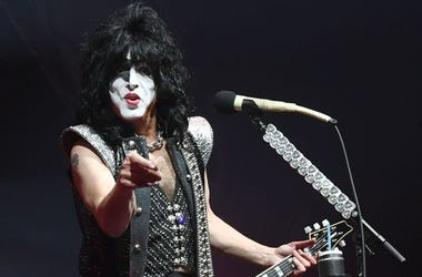 Paul Stanley of KISS performs