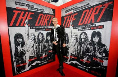 Machine Gun Kelly attends the premiere of Netflix's 'The Dirt""