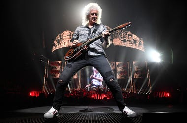 Queen stamps / Brian May