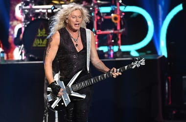 Rick Savage of Def Leppard