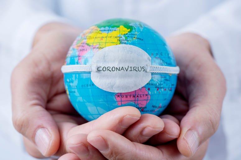 coronavirus globe