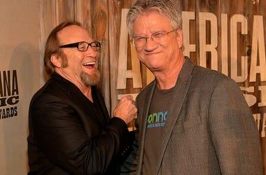 Stephen Stills and Richie Furay of Buffalo Springfield