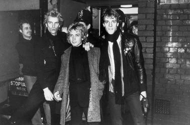 From left to right, they are Sting, Andy Summers and Stewart Copeland.