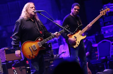 Warren Haynes and Oteil Burbridge of The Allman Brothers Band