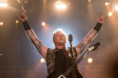 James Hetfiled from Metallica