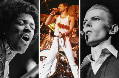 Hendrix, Mecury, Bowie
