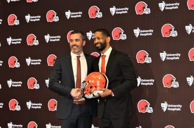 Kevin Stefanski Andrew Berry Cleveland Browns