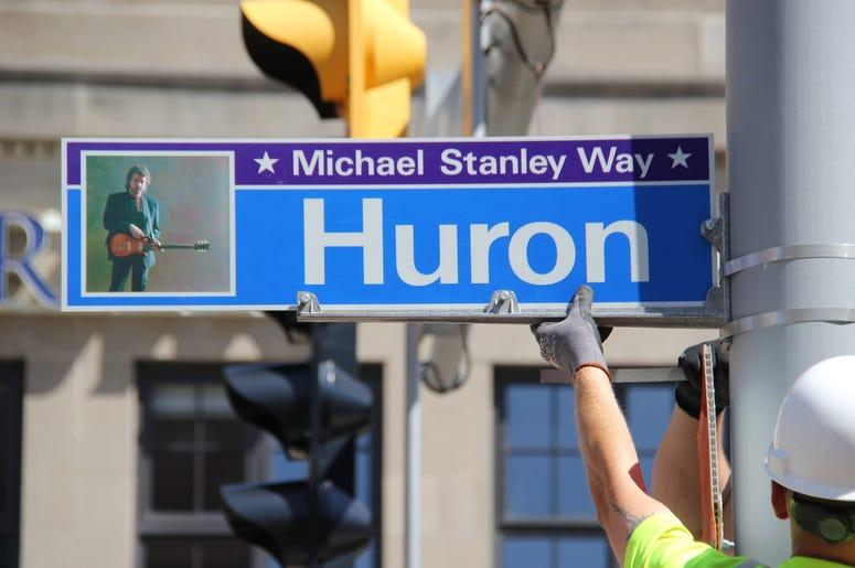 Michael Stanley Way Dedication