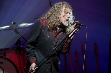 Robert Plant reacts