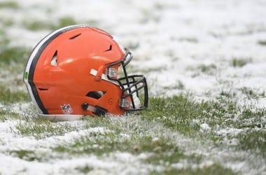 Cleveland Browns helmet