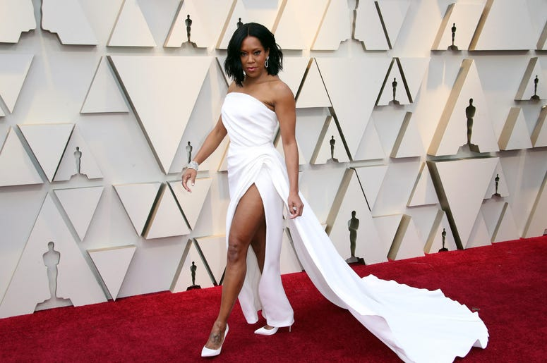 Regina King arrives at the 91st Academy Awards at the Dolby Theatre.
