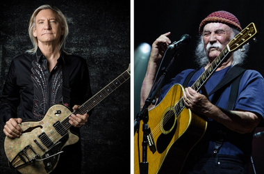 Joe Walsh and David Crosby will perform on May 2 at Kent State University for the May 4 50th Commemoration Benefit Concert.