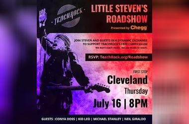 Little Steven's Roadshow in Cleveland