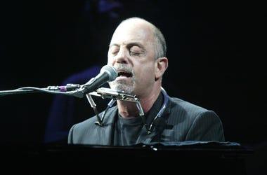 Billy Joel performs